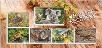 AUS 04/08/2020 Stamp Collecting Month 2020: Wildlife Recovery miniature sheet